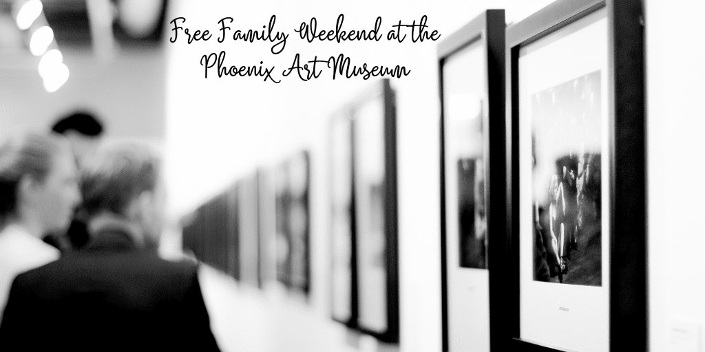 Looking for a fun way to experience some art and culture? Head on out to any of the free family weekend events at the Phoenix Art Museum! There is so much to see, experience, and learn at the art museum here in Phoenix. You can take the whole family for a unique experience without an added expenses! It's fun on a budget where you also learn something, what could be better than that!?